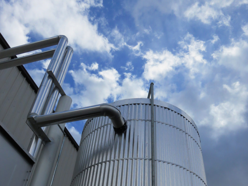 Tanks for Cold Storage Insulation