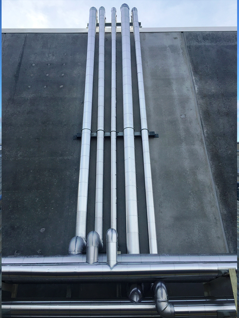 Wall Piping Insulation